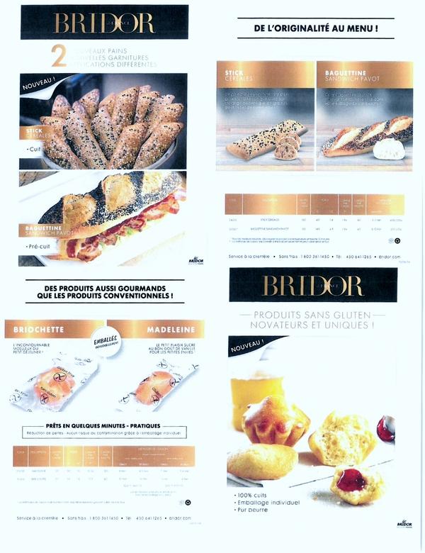 Nouveaux pains & produits sans gluten