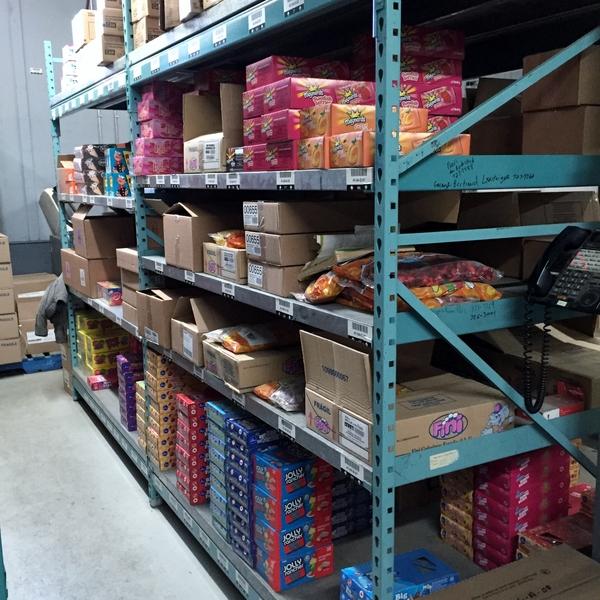 L'étagère de bonbons