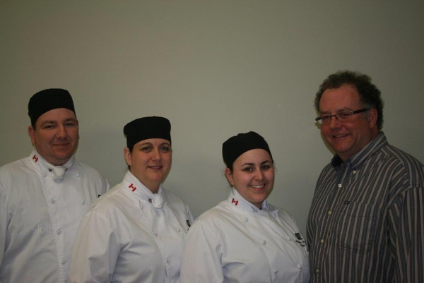 C.L.Comeau is proud to give a 500$ scolarship to one or more of CCNB students from professional cooking