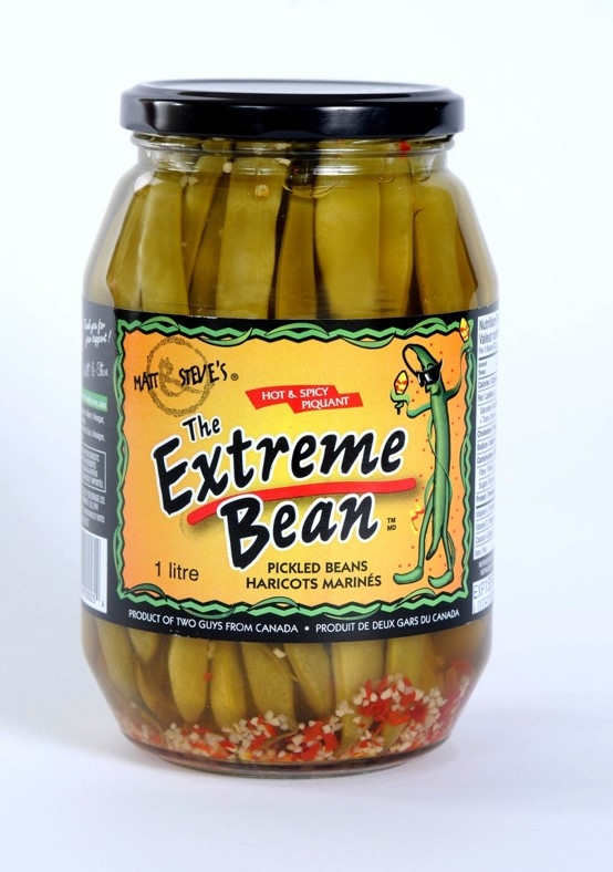 Extreme bean pickled beans