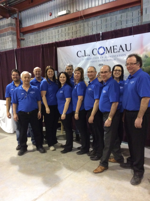the C.L. Comeau team