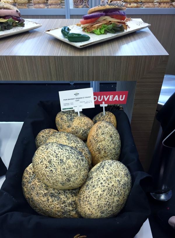 Bridor Pains bagnat-pains d'origine niçoise croustillants à l'extérieur et moelleux à l'intérieur!
