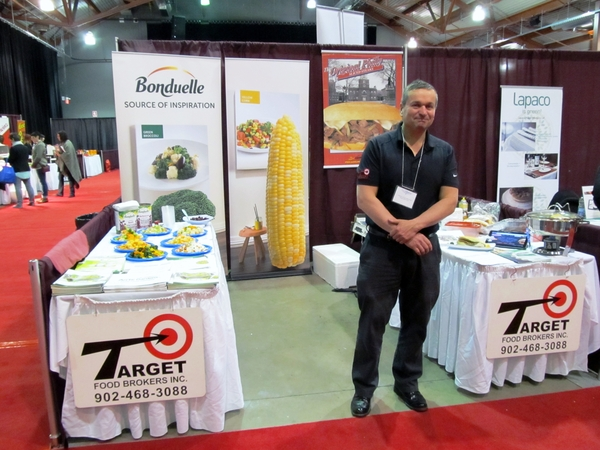 Paul Parent, représentant pour Target foods avec les compagnies Bonduelle et Phillysteak