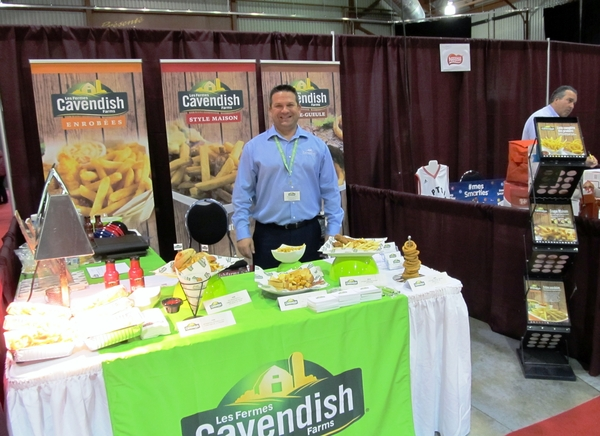 Billy Lirette, Cavendish farms sales rep