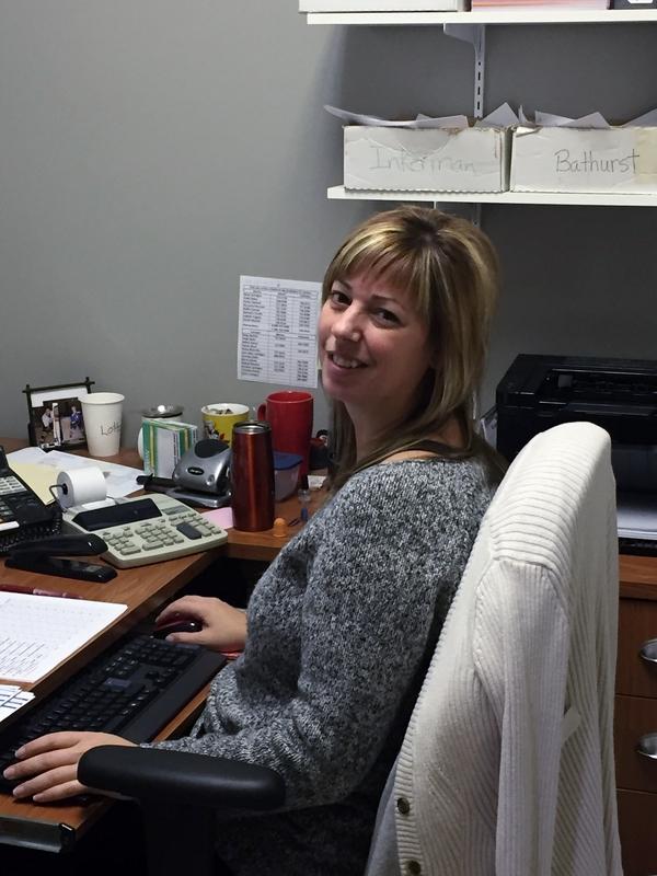 Isabelle Frigault, comptable chez CL Comeau